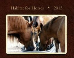 Habitat for Horses 2013 Calendar