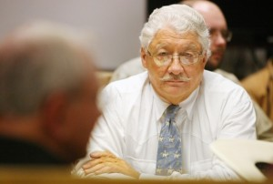 James Leachman of Billings listens to jury selectio