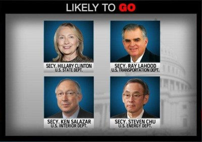 Likely to be leaving - Washington Cabinet shuffle