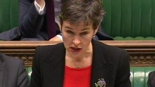 Mary Creagh says she has evidence that horses slaughtered in UK abattoirs tested positive for bute