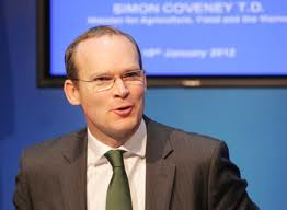 Simon Coveney - The Irish Minister for Agriculture, Food and the Marine