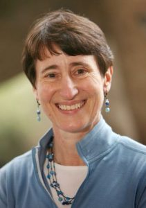 This March, 2006 file photo shows Recreational Equipment, Inc. (REI) CEO Sally Jewell at REI's Seattle flagship store.