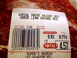 Horsemeat in the EU; Beef in England