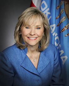 Governor Mary Fallin sided with ranchers and the Farm Bureau in overturning Oklahoma's 50-year ban on slaughtering horses.