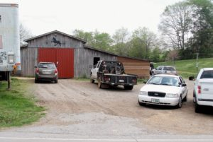 Photo by TOM SHERLIN | THE DAILY TIMES<br /> Agents with the U.S. Department of Agriculture executed a search warrant at the Larry Wheelan horse barn April<br /> 18 on Tuckaleechee Pike. The federal agents were assisted by the Blount County Society for the Prevention of<br /> Cruelty to Animals and Blount County Sheriff's Office.&#8221; /></a></p> <hr> <p><span style=