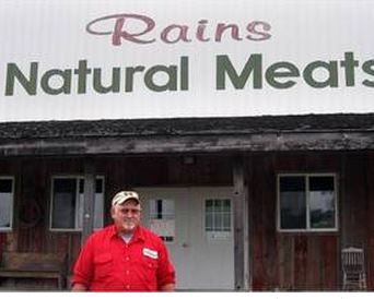 David Rains, Owner of Rains Natural Meat