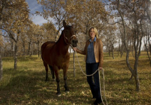 "Ellie Phipps Price is the producer of ""American Mustang,"" a documentary on wild horses that was screened at the Denver Film Festival. (Cyrus McCrimmon, The Denver Post)"