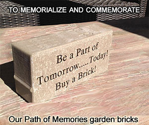 Memorial Brick for Habitat for Horses memorial pathway