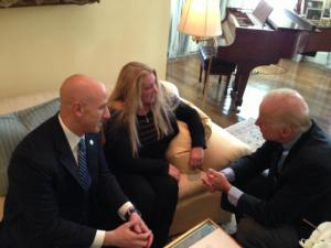 A huge, huge thank you to Victoria McCullough, FL State Senator Joe Abruzzo and Vice President Joe Biden. No matter what you read, they drove this effort from the starting gate to the finish line.