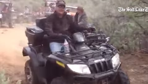 ATV riders on May 11th violate Federal lands.