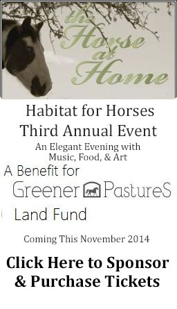 Greener Pastures 3rd Annual Event Nov 19th, 2014