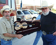 Charlie Daniels Fiddle up for auction at Greener Pastures