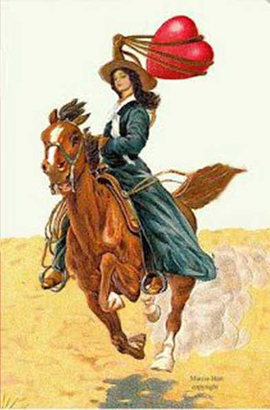 Großartig Girl_riding_horse_valentines
