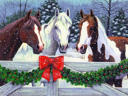 Christmas Horse Pictures.Veterinary Viewpoints Twelve Days Of Christmas For Your