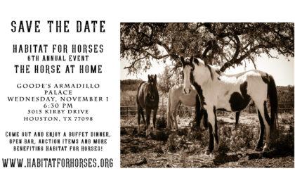 Habitat for Horses_SavetheDate_6.5.17